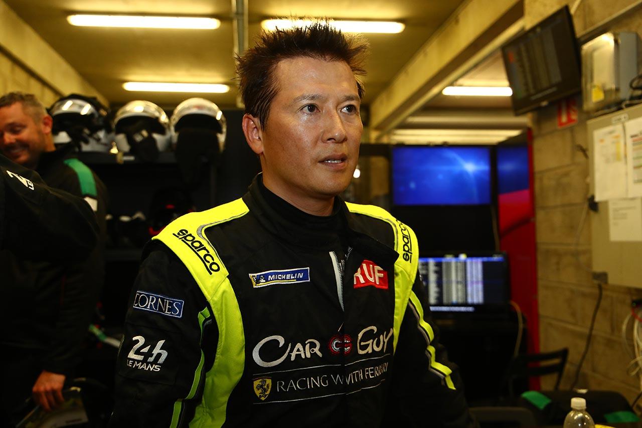 カーガイレーシングの木村選手